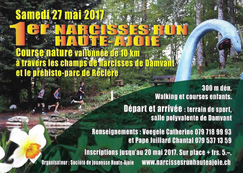 Narcisses Run Haute-Ajoie